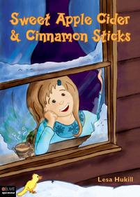A snowy night and wildlife by moonlight, Sweet Apple Cider and Cinnamon Sticks, published by Tate Publishing